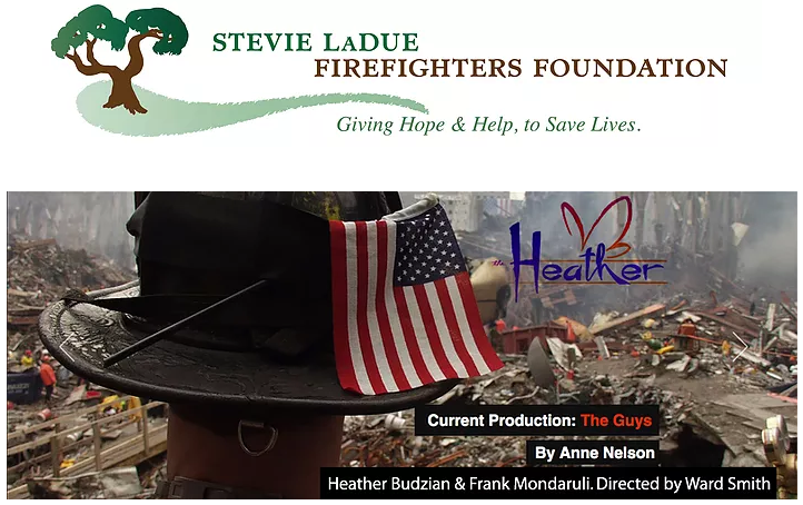 """""""The Guys"""" hosted by The Stevie LaDue Firefighters Foundation"""